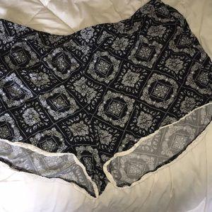 Pants - bandanna patterned shorts